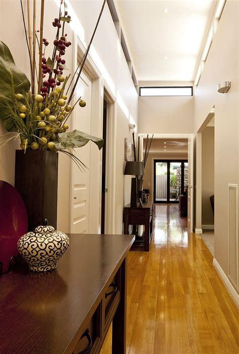 decorating  long narrow hallway avalon construction