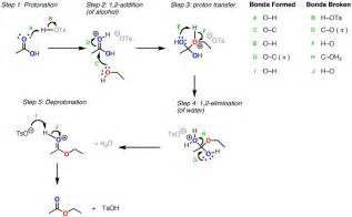 Protonation Definition Conversion Of Carboxylic Acids To Esters Using Acid And