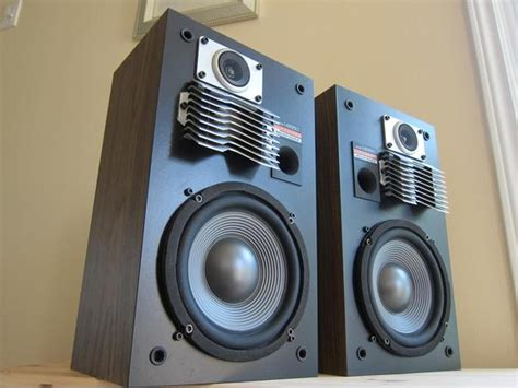 x marantz ls 550 3 way stereo bookshelf speakers