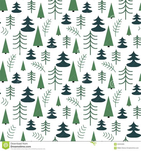 printable christmas paper a3 seamless christmas pattern with trees ideal for wrapping