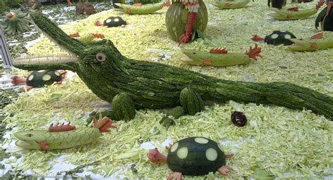vegetable carving vegetable sculptures related keywords vegetable