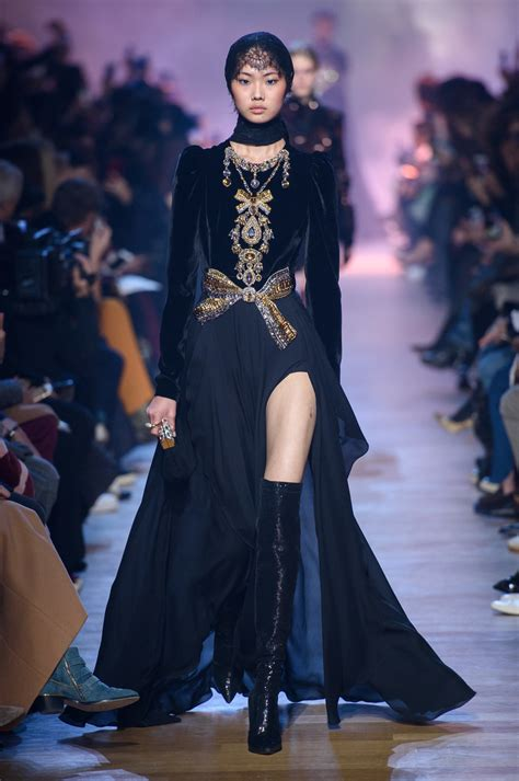 Fashion Week Day 2 Up by Elie Saab At Fashion Week Fall 2018 Every Gorgeous