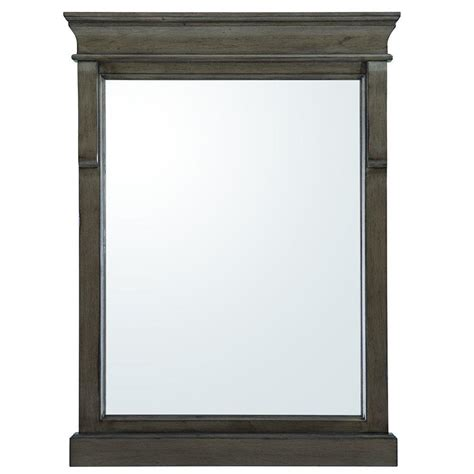 Home Decorators Mirror by Home Decorators Collection Naples 32 In L X 24 In W Wall