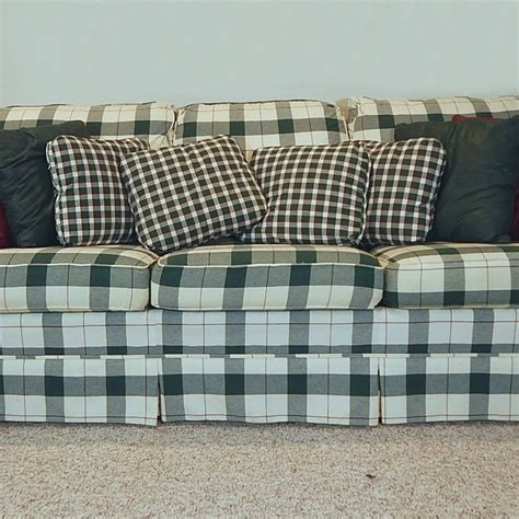 Green Plaid Sofa Awesome Plaid Couch 52 With Additional Plaid Sofa