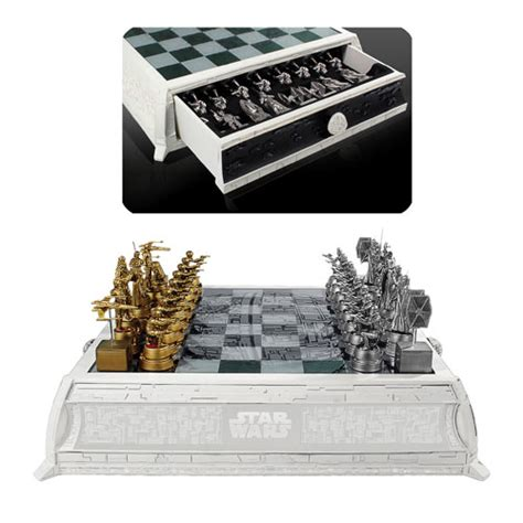 star wars chess sets star wars chess set at urban collector