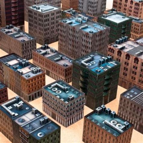 Paper Craft Buildings - papercraft buildings for miniature gaming