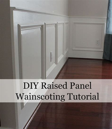 Raised Panel Wainscoting Diy by 17 Best Ideas About Raised Panel On Raised