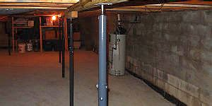 basement post rooms