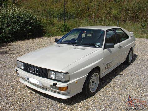 Audi Quattro 1991 by 1991 Audi Quattro Turbo White Low Miles Outstanding