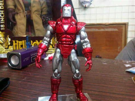 Jual Armour Marvel jual figure robot iron silver centurion hologram armor biz jual figure