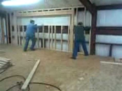 Barn Made Into A House Www Wilsonworksconstruction Com Wall Framing Youtube