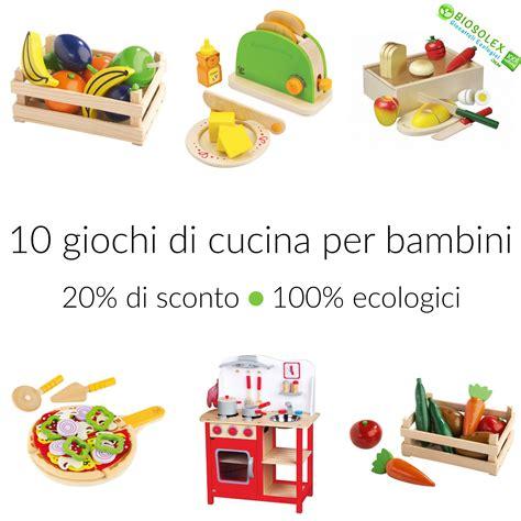 gioco della cucina di 10 giochi di cucina per bambini 100 ecologici babygreen