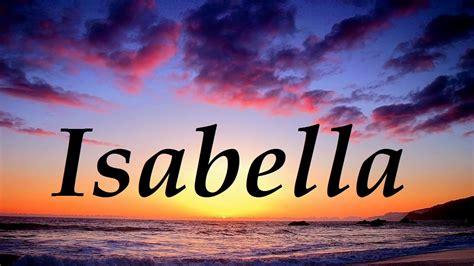que significa imagenes oniricas 191 qu 233 significa isabella