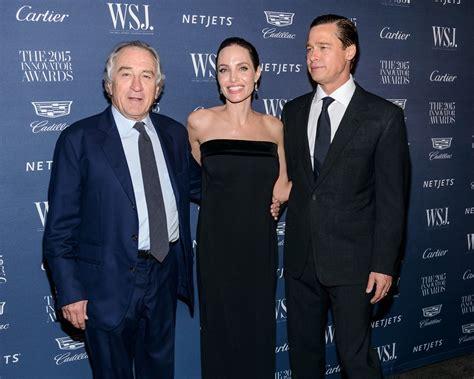 Brad Pitt Robert De Niro Robert De Niro Picture 189 Wsj Magazine 2015 Innovator