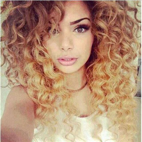 curly hairstyles ombre omg such beautiful ombre curly hair hair pinterest