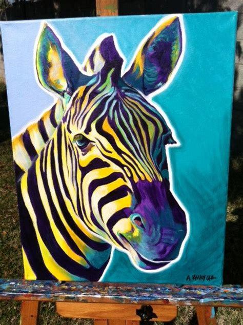 painting of zoo animals zebra dawgart wildlife zebra zebra painting zoo