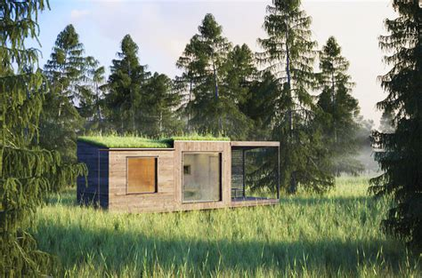 Hobbit Homes For Sale jonas wagell s tiny green roofed arjan sauna vanishes in