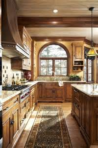 beautiful wood and counter tops manor kitchen