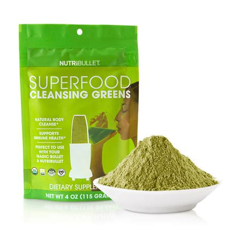 Superfood Detox by Nutribullet Superfood Cleansing Greens