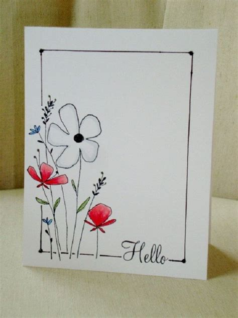 Simple Handmade Birthday Card Designs - 25 best ideas about cards on
