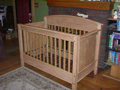 woodworking crib plans oak crib baby