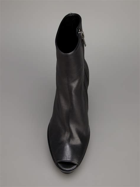 demeulemeester women s cut out wedge boot xeuee