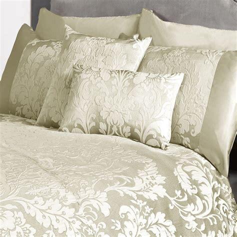 damask bedding set marston damask duvet cover embossed floral motif light