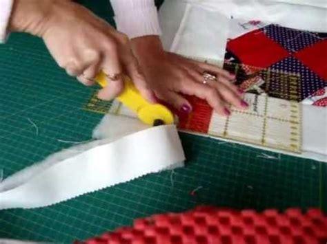 krabbel decke patchwork krabbeldecke quilt selber n 228 hen teil 6 6 saum