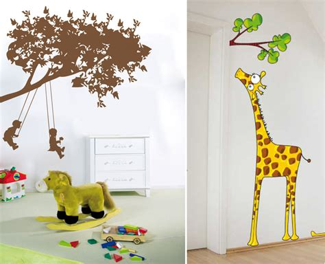 Childrens Bedroom Wall Decor Wall Stickers By Acte Deco Digsdigs