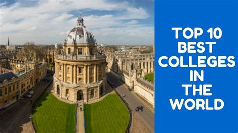 Top 10 Best Universities In The World For Mba by Top 10 Best Colleges In The World Best Universities In