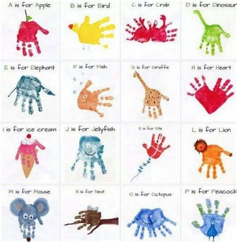 crafts with handprints and footprints 25 best ideas about handprint on baby