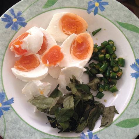 ketam telur masin simple bergambar koleksi resepi emak