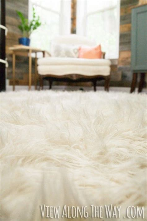 how to make a faux fur rug 21 best images about cheap diy area rug on diy headboards faux cowhide rug and gray