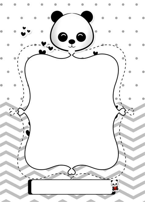 Planner para Professores Tema Panda Capa Caderno