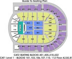 O2 London Floor Plan by O2 Arena London Seating Plan Detailed Seat Numbers
