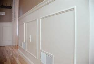 Wainscot Chair Rail Moulding Hallway Molding Done Join The Black Decker Your Big