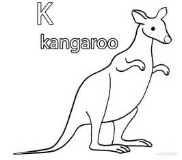 kangaroo coloring page printable kangaroo coloring pages for cool2bkids