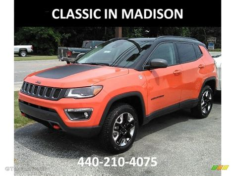 orange jeep compass 2017 spitfire orange jeep compass trailhawk 4x4 121847110