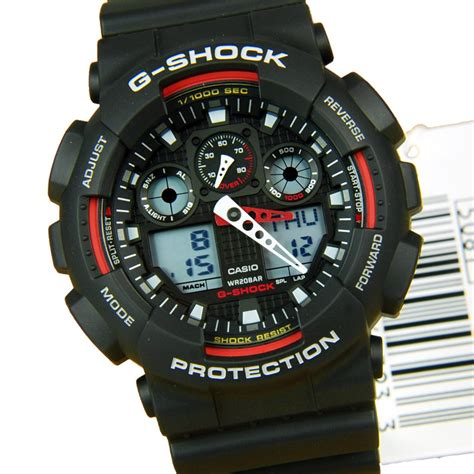 Casio G Shock Ga100 ga 100 1a4 ga100 casio g shock