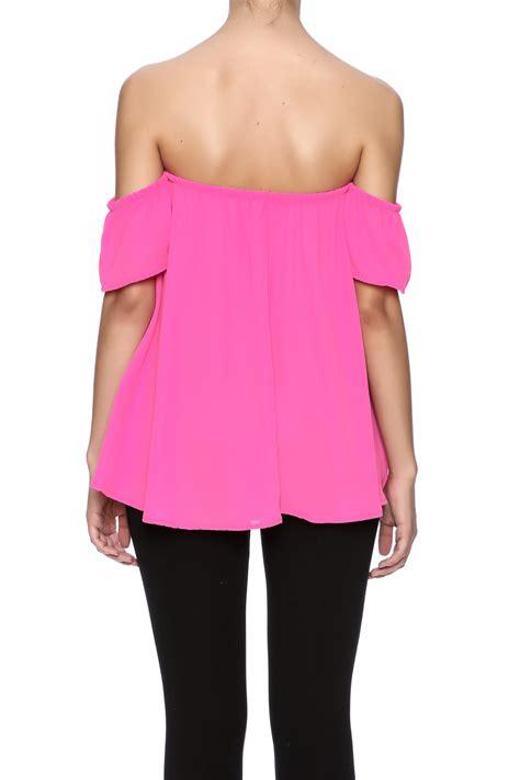 Oversized Blouse Jumbo Piya Flowy shoulder flowy top shoptiques