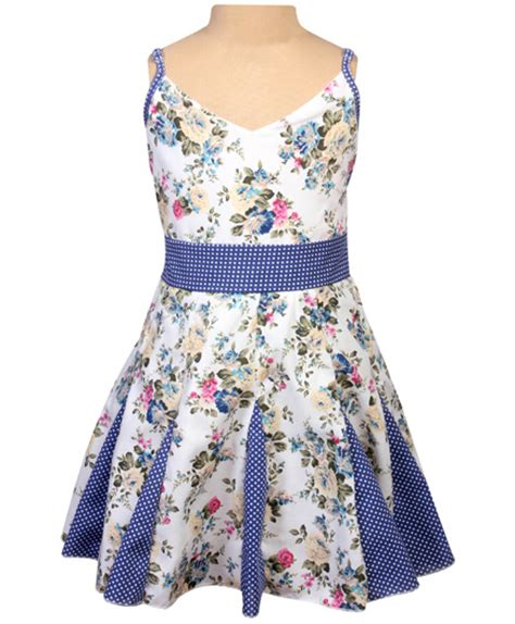 Pattern For Umbrella Frock   singlet floral print umbrella frock 2 3 years classy