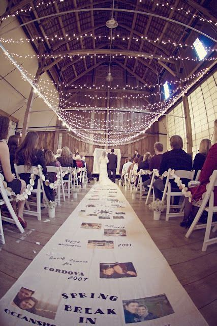 Wedding Aisle With Pictures Of Memories by 93 Best Images About Wedding Memorial Ideas On