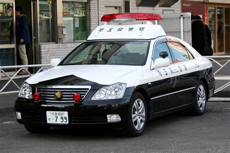 File Japanese Toyota Crown Grs180 Police Car Jpg