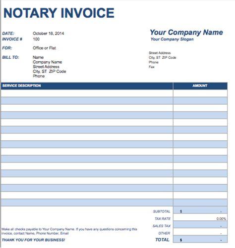 legal invoices free invoice templates