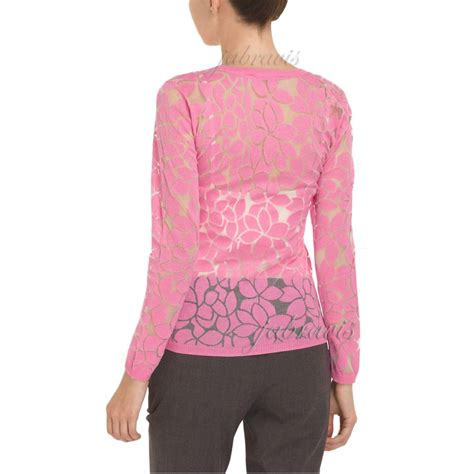 Jny Co Sweater Banana Sweet Opika yoana baraschi indian pink aloe flower burnout cardigan