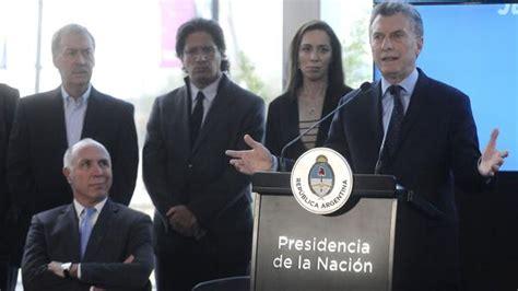 macri present un plan para modernizar el estado macri present 243 el plan nacional contra el narcotr 225 fico