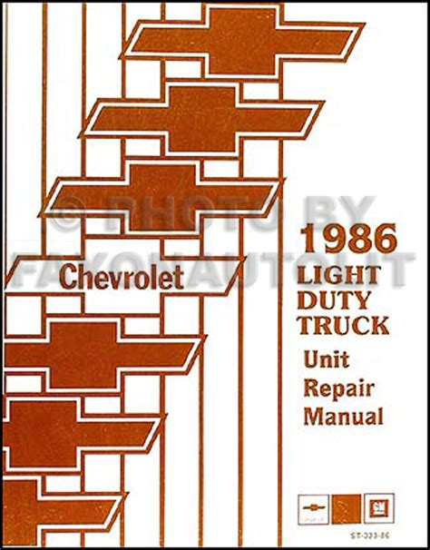 1986 chevy truck suspension wiring diagrams wiring