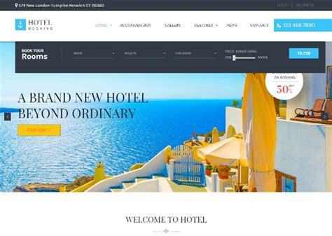 best hotel booking website premium theme for hotels market rider