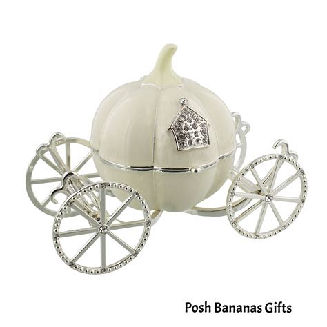 musical cinderella carriage special baby gift silver plate