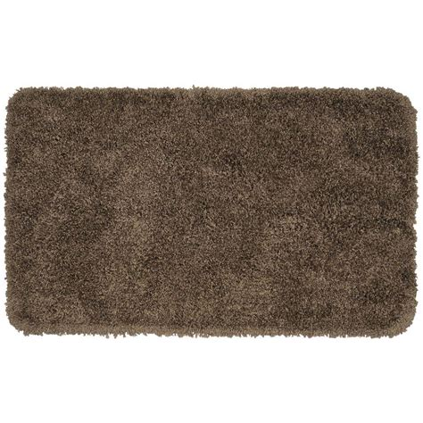 bathroom accent rugs garland rug serendipity chocolate 30 in x 50 in washable